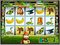 Slot Machine Crazy Monkey 2